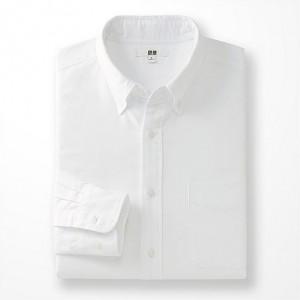 ユニクロオックスフォードシャツ