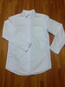 ユニクロオックスフォードシャツ (1)
