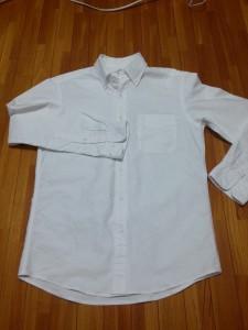 ユニクロオックスフォードシャツ (7)