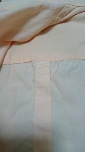 シャツ幅詰め (5)